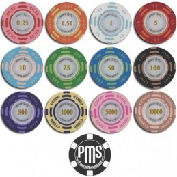 Fiches / Chips Poker MONTECARLO 5 euro