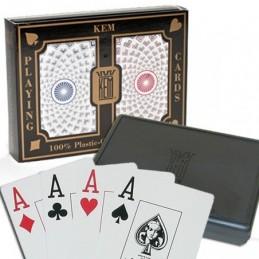 Box in Legno per Due Mazzi di Carte