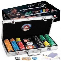 Tavolo da Poker con Gambe Pieghevoli 9 Posti + Dealer