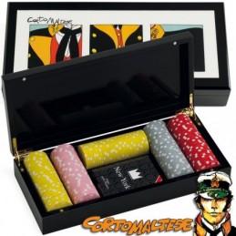 Gettoniera / Porta Fiches da incasso 350 Chips con spazio per Carte e Timer