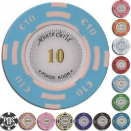 Fiches / Chips Poker MONTECARLO 10 euro
