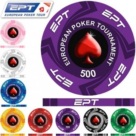 Fiches / Chips EPT Ceramica Replica 500