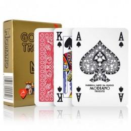 Carte Modiano Poker Golden...