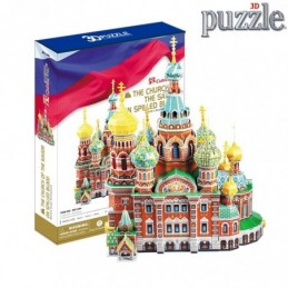 PUZZLE 3D THE CHURCH OF THE...