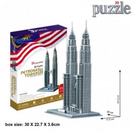 PUZZLE 3D PETRONAS TOWERS -...