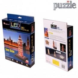 PUZZLE 3D BIG BEN CON LED -...