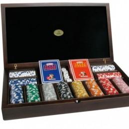 Set Poker in Legno 300...