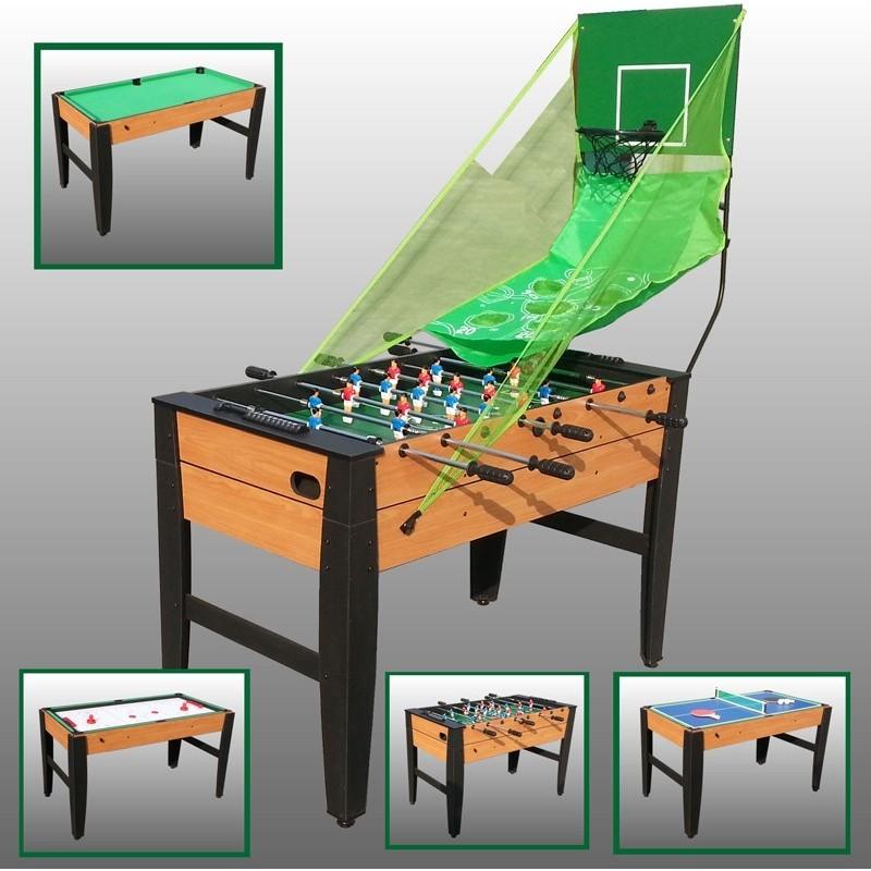 Tavolo multigioco 6 in 1 in legno idea regalo for Regalo tavolo milano