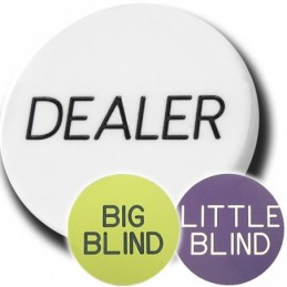 Dealer Button Set da 3...