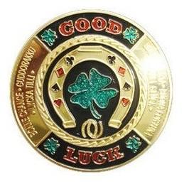"Card Guard ""Good Luck"" Oro"