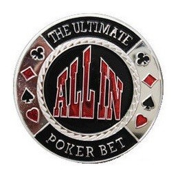 "Card Guard ""All In"" Argento"
