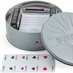 Set da Gioco Burraco in Latta