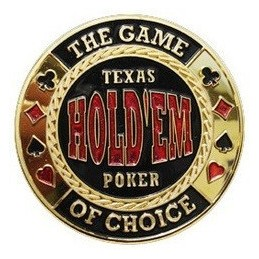 Card Guard 'Texas Hold'em' Oro