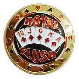 Card Guard 'Royal Flush' Oro