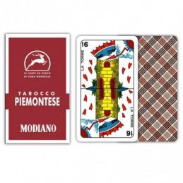 Tarocco PIEMONTESE 84 Rosso...