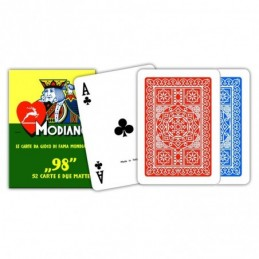Carte POKER 98 Blu o Rosse...