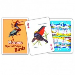Carte POKER SPECIAL BIRDS...