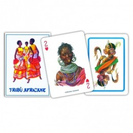 Carte POKER TRIBU' AFRICANE...