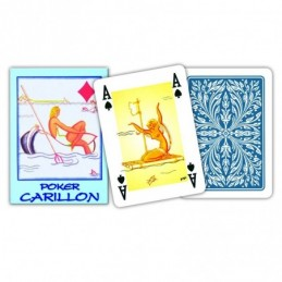 Carte POKER CARILLON Blu...