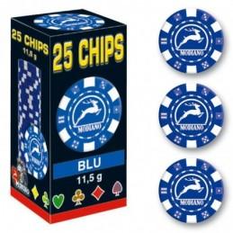25 Chips 11,5g Blu Texas...