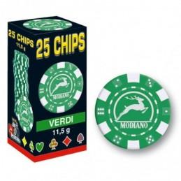 25 Chips 11,5g Verde Texas...