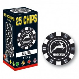 25 Chips 11,5g Nero Texas...
