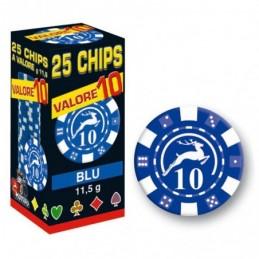 25 Chips 11,5g Blu VALORE...