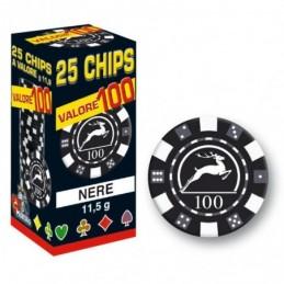 25 Chips 11,5g Nero VALORE...