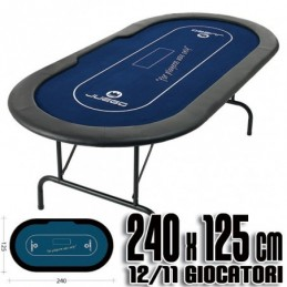 Poker table GAME BLUE with...