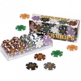 Set 100 Chips Poker values...