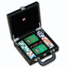 Set Briefcase Leather 100...