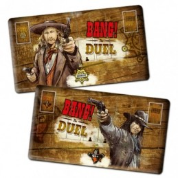 BANG! The Duel Player Mats...