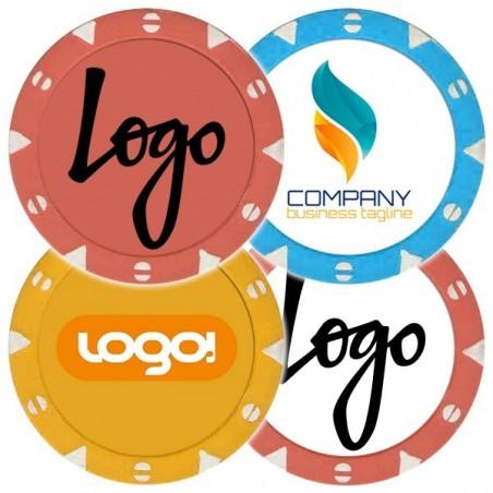 Fiches / Chips MILANO 14 gr Personalizzate con il tuo Logo o Grafica