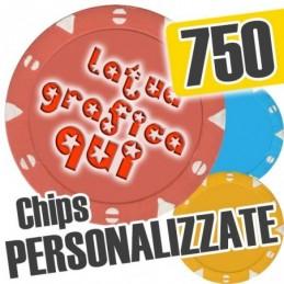Set 750 Fiches Chips mod....