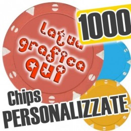 Set 1000 Fiches Chips mod....