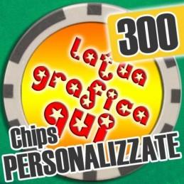 Set 300 Fiches Chips mod....
