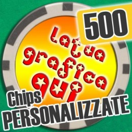 Set 500 Fiches Chips mod....