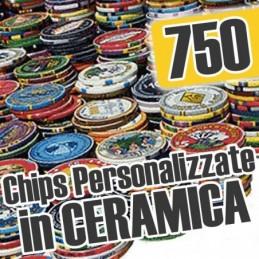 Set of 750 Chips Chips...