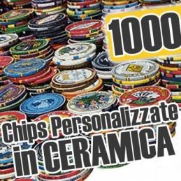 Set 1000 poker Chips Chips...