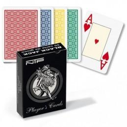 Carte BLACK JACK 100% PVC...