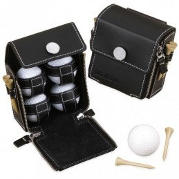 Astuccio Set GOLF in Pelle...