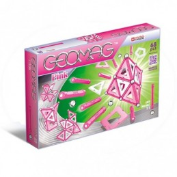 GEOMAG Pink 68 Pezzi