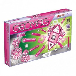 GEOMAG Pink 104 Pezzi