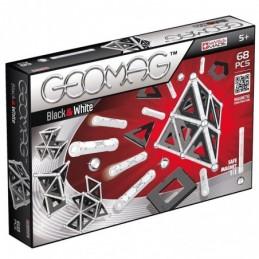GEOMAG Black & White 68 Pezzi