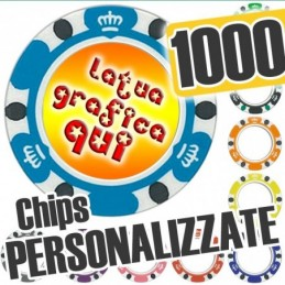 Set 1000 Fiches Chips mod....