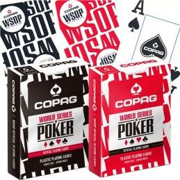 Carte COPAG WSOP 100% PVC...