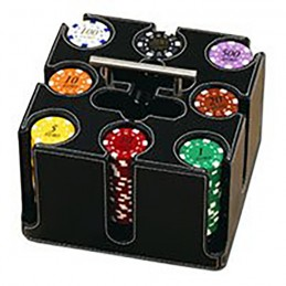Set Gioco 200 Chips CUBO...