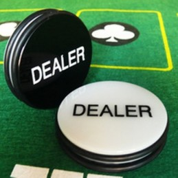 Dealer Button 75 mm