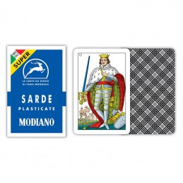 Carte Sarde Blu SUPER Modiano