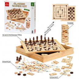 CLASSIC GAME KIT Giochi da...